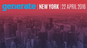 Generate New York 2016: an amazing day for web designers