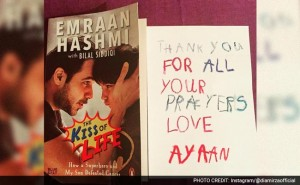 Emraan Hashmi's Son is Sending Out These Adorable Thank You Cards