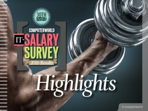 IT Salary Survey 2016: Highlights
