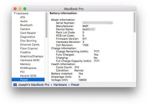 When Can AppleCare update a MacBook's Battery?