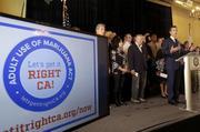POT LEGALIZATION BACKERS KICK OFF CALIFORNIA marketing campaign