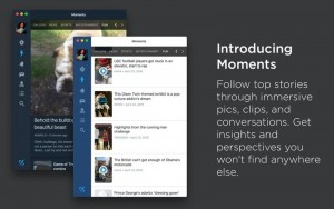 Twitter for Mac gains support for Moments and Polls