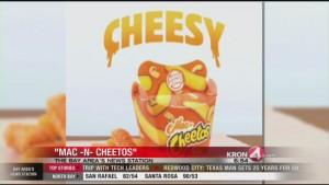 "Burger King adds ""Mac And Cheetos"" to its menu beginning Monday"