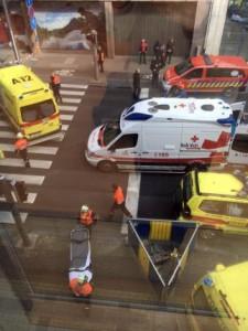 Belgium police arrest guy wearing fake explosives belt at mall