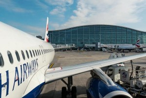 Guy arrested at London's Heathrow airport on suspicion of terrorism, police say