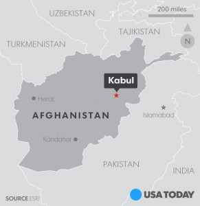 80 dead in Islamic State suicide bombing in Kabul