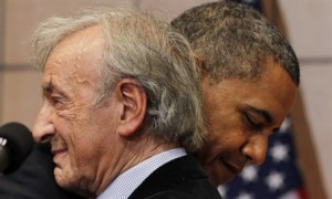 Obama: Wiesel become 'the conscience of the arena'