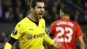 Henrikh Mkhitaryan: Guy Utd bid customary through Borussia Dortmund