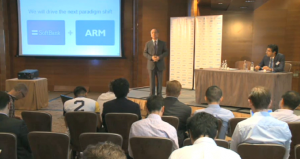 Softbank CEO: ARM M&A began 2 weeks ago, £24B deal made 'regardless of Brexit', pound decline