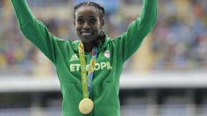 Rio Olympics 2016: Ethiopia's Almaz Ayana shatters 10,000 world record by 14 seconds