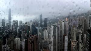 Hong Kong soaked but safe as Typhoon Nida is downgraded