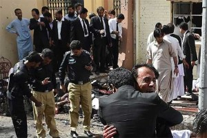 Lawyers, media persons among 70 killed in Quetta hospital blast