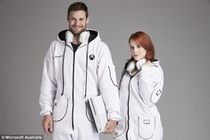 Xbox Australia unveil the limited edition 'Xbox Onesie': the ultimate gaming garment
