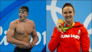 Rio 2016: Britain, Hungary shatter world records in swimming