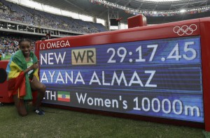 Rio Olympics: Ethiopia's Almaz Ayana sets world record in winning women's 10,000 meters