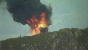 RAF helicopter fire on Snowdonia peak after technical issue