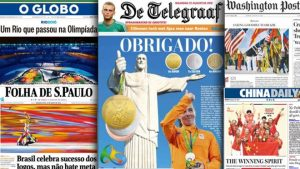 World media hail Rio Olympic games despite flaws