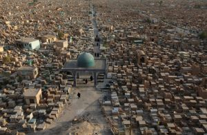 See what the biggest cemetery in the world looks like