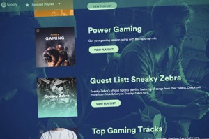 New Spotify Gaming wants to be the musical score to your high score