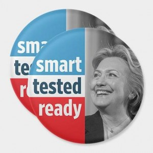 Hillary Clinton's superstar roster of US designers is making campaign swag great again