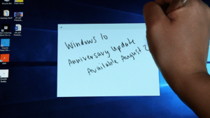 Microsoft begins rolling out Windows 10 Anniversary Update, starting with newest machines