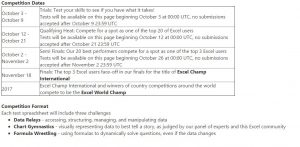 "Are you an Excel champ? Enter Microsoft's ""Excel World Championship"" and win a trip to Seattle"