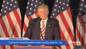 Donald,Trump,releases,medical,info,to,Dr.,Oz