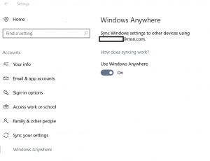 """Windows Anywhere"" makes an appearance in latest Windows 10 Insider build 14926"