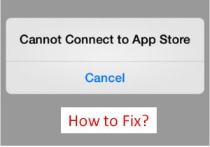 3 Ways to Fix 'Cannot Connect to App Store' on iPhone / iPad [How-To]