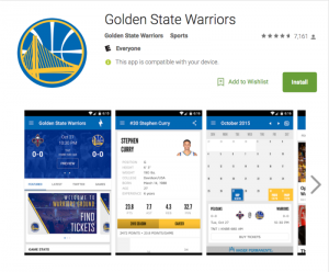 Golden State Warriors Android app constantly listens to nearby audio, fan says [Updated]