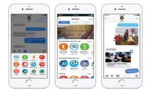 Apple's iMessage App Store already has over 1,650 apps, majority are sticker packs