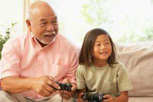 Intergenerational gaming helps families connect