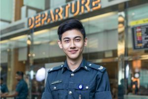 This Security Officer At The Singapore Airport Is Internet's Latest Heartthrob