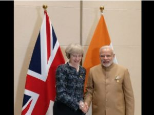 British PM Theresa May to visit India in November, will review strategic partnership with UK