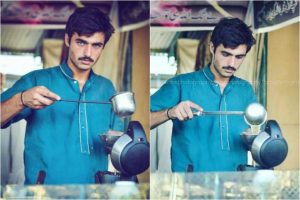 Move Over Fawad Khan, A Blue-Eyed Pakistani Chaiwala Is Internet's Latest Crush