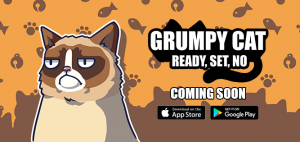 "Grumpy Cat – Ready, Set, NO is ""the worst game you will ever play"""