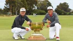 World Cup of Golf: Kjeldsen and Olesen lead Denmark to first victory in the tournament
