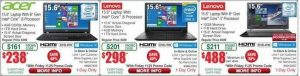 Fry's Black Friday deals include $98 Dell laptop, Apple Mac sales
