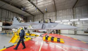 Gripen E flight slips into 2017 as Saab puts software first