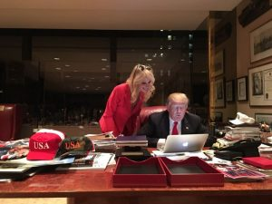 Here's a Rare Photo of Donald Trump Using a Computer