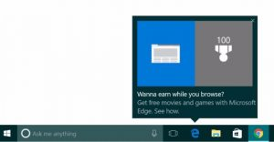 Here we go again: Microsoft's popping up ads from the Windows 10 toolbar