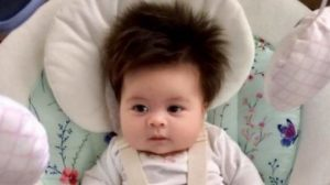 Meet the latest baby giving the internet hair envy