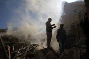 Russian envoy: Evacuation deal reached for last rebel zones in Syria's ravaged Aleppo