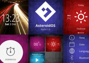 Open Source Smartwatch Operating System AteroidOS Alpha 1.0 Released (video)