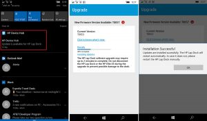 New firmware for the HP Lap Dock improves Elite x3 touchpad experience