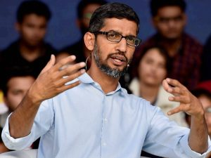 Indian Internet firms need scale to compete globally: Sundar Pichai