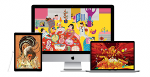 Apple releases free Chinese New Year Nianhua folk art wallpapers for Mac, iPhone, and iPad