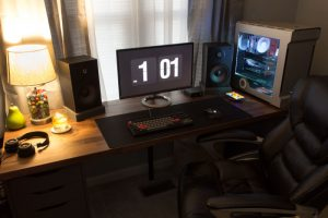 The Multipurpose Gaming, Music, and Work Space