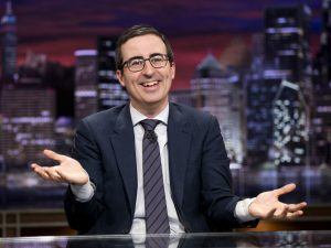 John Oliver Returns to Out-News the News—by Ignoring Trump