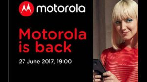 Motorola Sends Out Invites for June 27, Moto Z2 Incoming?